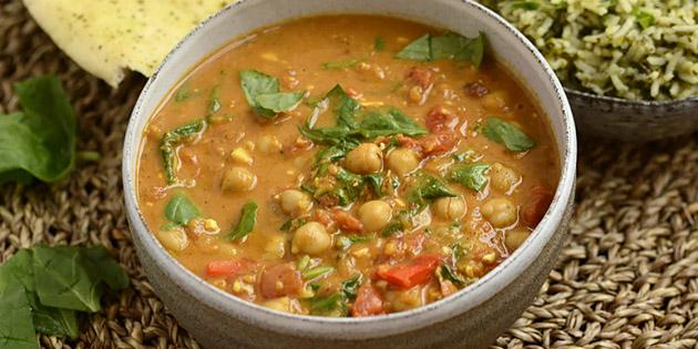 Indisk vegetargryte